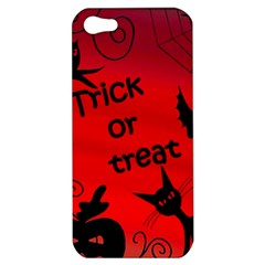 Trick Or Treat   Halloween Landscape Apple Iphone 5 Hardshell Case by Valentinaart