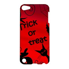 Trick Or Treat   Halloween Landscape Apple Ipod Touch 5 Hardshell Case by Valentinaart