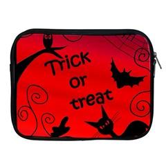 Trick Or Treat   Halloween Landscape Apple Ipad 2/3/4 Zipper Cases by Valentinaart