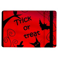 Trick Or Treat   Halloween Landscape Ipad Air Flip by Valentinaart