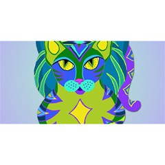 Peacock Tabby You Are Invited 3d Greeting Card (8x4) by jbyrdyoga