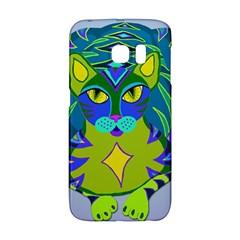 Peacock Tabby Galaxy S6 Edge by jbyrdyoga