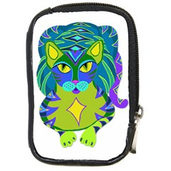 Peacock Tabby  Compact Camera Cases by jbyrdyoga