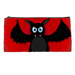 Halloween Bat Pencil Cases by Valentinaart