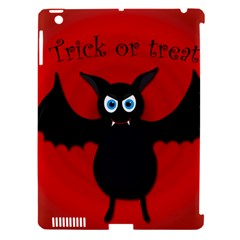 Halloween Bat Apple Ipad 3/4 Hardshell Case (compatible With Smart Cover) by Valentinaart