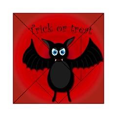 Halloween bat Acrylic Tangram Puzzle (6  x 6 ) by Valentinaart