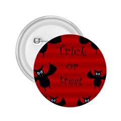 Halloween Bats  2 25  Buttons by Valentinaart