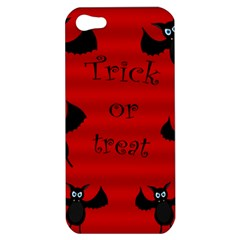 Halloween Bats  Apple Iphone 5 Hardshell Case by Valentinaart