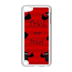 Halloween Bats  Apple Ipod Touch 5 Case (white) by Valentinaart