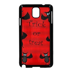 Halloween Bats  Samsung Galaxy Note 3 Neo Hardshell Case (black) by Valentinaart