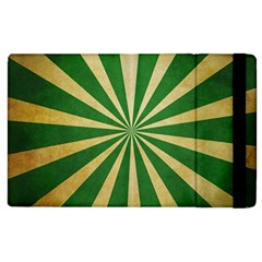 Colored Vintage Apple Ipad 2 Flip Case by AnjaniArt
