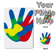 Creativity Painted Hand Copy Multi Purpose Cards (rectangle)  by AnjaniArt