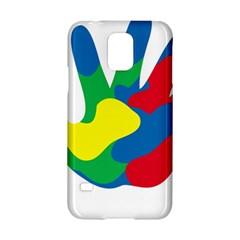 Creativity Painted Hand Copy Samsung Galaxy S5 Hardshell Case  by AnjaniArt