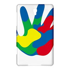 Creativity Painted Hand Copy Samsung Galaxy Tab S (8.4 ) Hardshell Case  by AnjaniArt