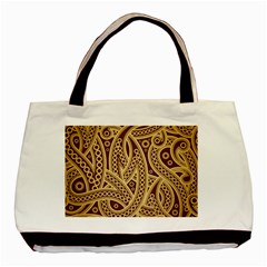 European Fine Pattern Basic Tote Bag (two Sides) by AnjaniArt