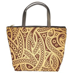 European Fine Pattern Bucket Bags by AnjaniArt