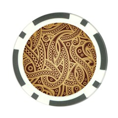 European Fine Pattern Poker Chip Card Guards (10 Pack)  by AnjaniArt