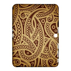 European Fine Pattern Samsung Galaxy Tab 4 (10 1 ) Hardshell Case  by AnjaniArt