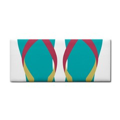 Flip Flop Slippers Copy Hand Towel by AnjaniArt
