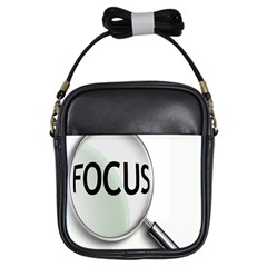 Focus Girls Sling Bags by AnjaniArt