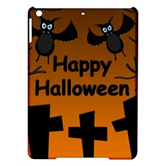 Happy Halloween   Bats On The Cemetery Ipad Air Hardshell Cases by Valentinaart