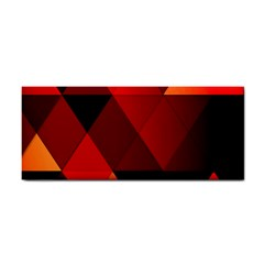 Abstract Triangle Wallpaper Hand Towel by Zeze