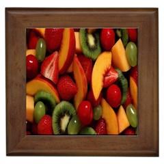 Fruit Salad Framed Tiles by AnjaniArt