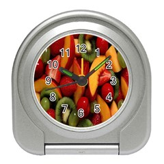 Fruit Salad Travel Alarm Clocks by AnjaniArt