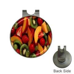 Fruit Salad Hat Clips With Golf Markers by AnjaniArt