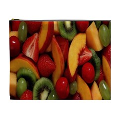 Fruit Salad Cosmetic Bag (xl) by AnjaniArt