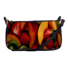 Fruit Salad Shoulder Clutch Bags by AnjaniArt