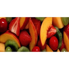 Fruit Salad You Are Invited 3d Greeting Card (8x4) by AnjaniArt