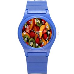 Fruit Salad Round Plastic Sport Watch (s) by AnjaniArt