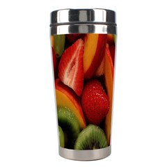 Fruit Salad Stainless Steel Travel Tumblers by AnjaniArt