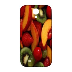 Fruit Salad Samsung Galaxy S4 I9500/i9505  Hardshell Back Case by AnjaniArt