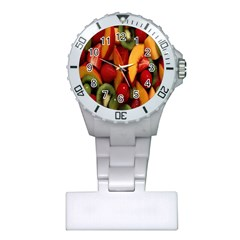 Fruit Salad Plastic Nurses Watch by AnjaniArt