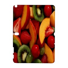 Fruit Salad Samsung Galaxy Note 10 1 (p600) Hardshell Case by AnjaniArt