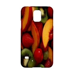 Fruit Salad Samsung Galaxy S5 Hardshell Case  by AnjaniArt