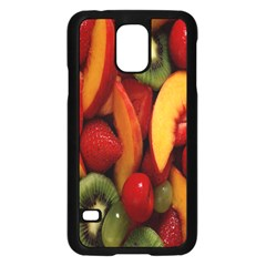 Fruit Salad Samsung Galaxy S5 Case (black) by AnjaniArt
