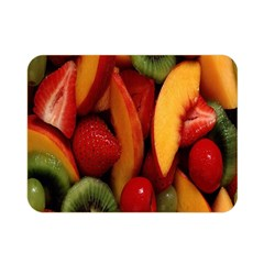 Fruit Salad Double Sided Flano Blanket (mini)  by AnjaniArt