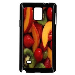 Fruit Salad Samsung Galaxy Note 4 Case (black) by AnjaniArt