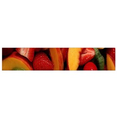 Fruit Salad Flano Scarf (small) by AnjaniArt