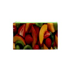 Fruit Salad Cosmetic Bag (xs) by AnjaniArt