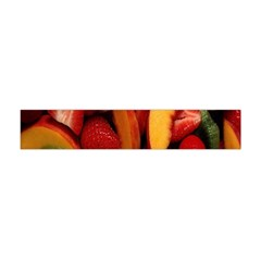 Fruit Salad Flano Scarf (mini) by AnjaniArt