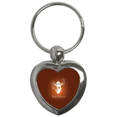 Funny Halloween Key Chains (heart)  by AnjaniArt