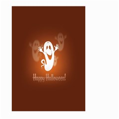 Funny Halloween Large Garden Flag (two Sides) by AnjaniArt