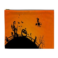 Halloween Day Cosmetic Bag (xl) by AnjaniArt