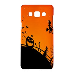 Halloween Day Samsung Galaxy A5 Hardshell Case  by AnjaniArt