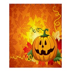 Halloween Pumpkin Shower Curtain 60  X 72  (medium)  by AnjaniArt