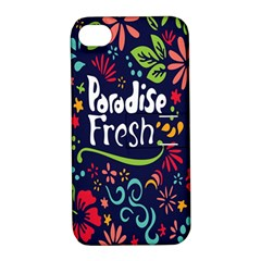Hawaiian Paradise Fresh Apple Iphone 4/4s Hardshell Case With Stand by AnjaniArt